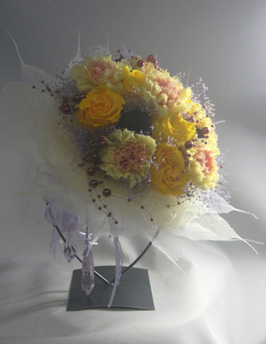 還暦のお祝いのプリザーブドの花束