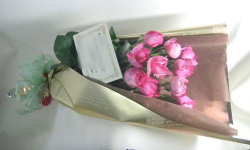 イブピアッチェのお祝いの花束