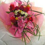 お祝いの花束