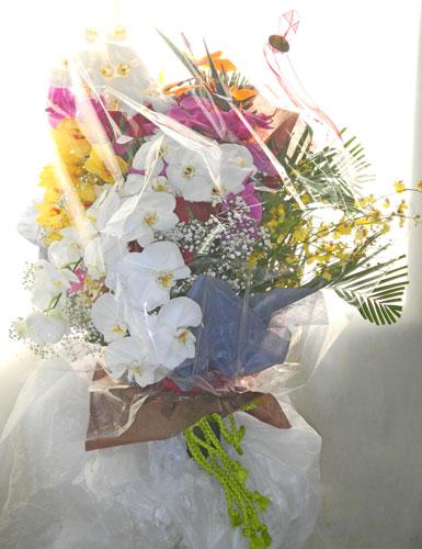 退職記念の花束