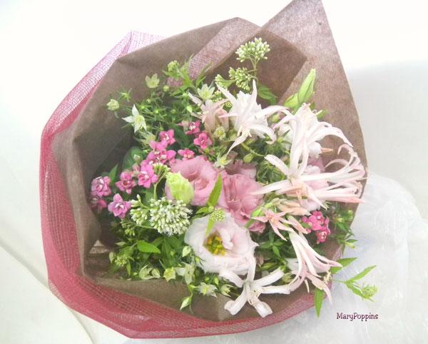 お誕生日お祝いの花束