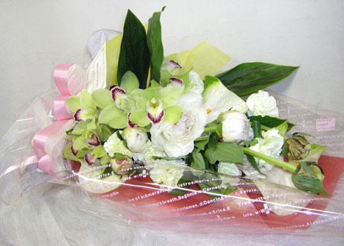 シンビジウムの花束