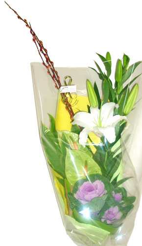 御公演のお祝いの花束