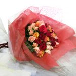 ご結婚記念日の花束