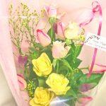 出演お祝いの花束