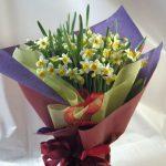 古希のお祝いの花束