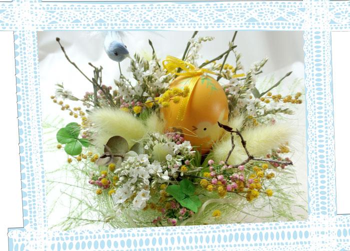 小鳥とたまごと四つ葉のクロ-バーHappy love