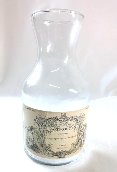 クラシックスタイル・ガラスボトル