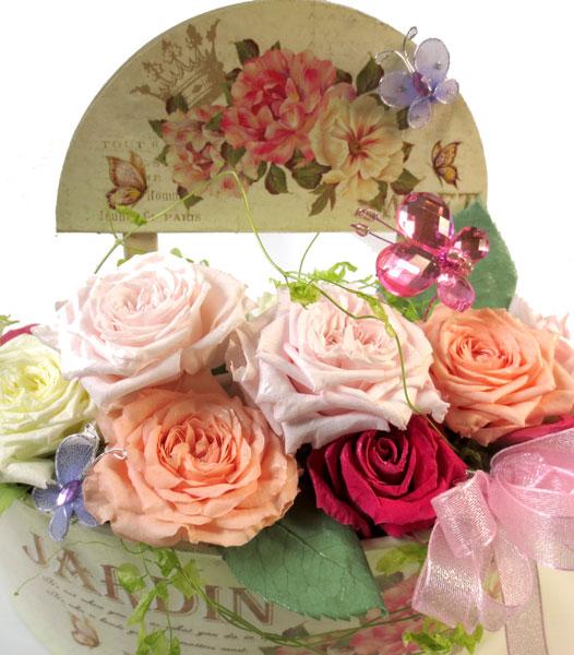 プリザーブドフラワーのバラの庭