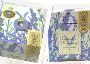 ソイ・ワックスキャンドル〜Lavender&Rosemary