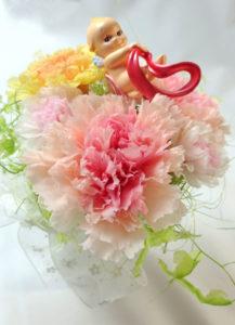 プリザーブドアレンジ〜Kewpie