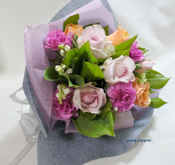 お誕生日祝いの花束