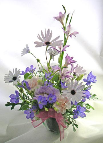 青い小花のアレンジメント〜blooms of blue